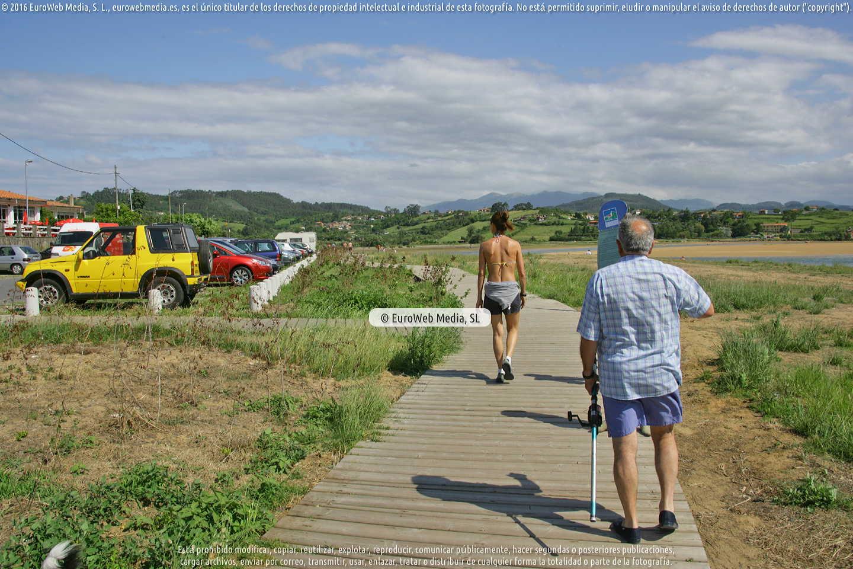 Fotografía de Playa Rodiles en Villaviciosa. Asturias. España.