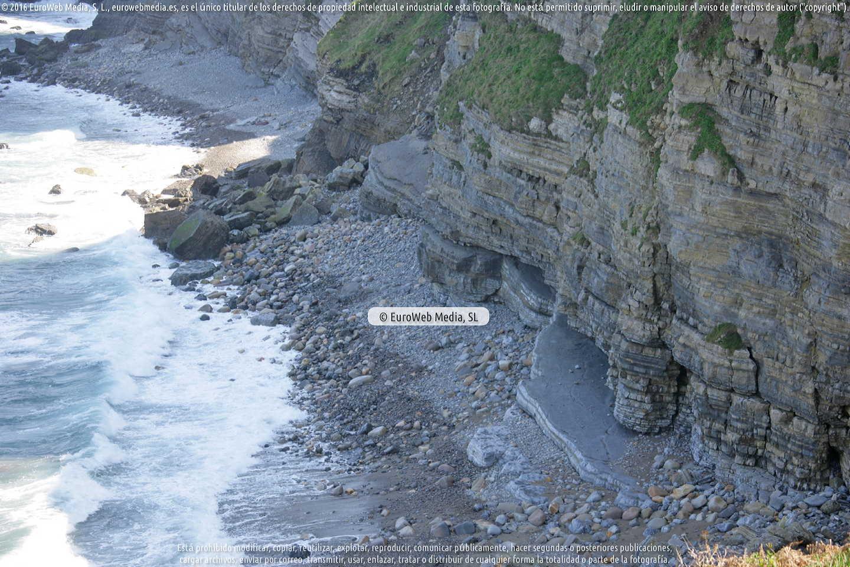Fotografía de Playa Ensenada Conejera en Villaviciosa. Asturias. España.