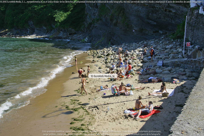 Fotografía de Playa Tazones en Villaviciosa. Asturias. España.