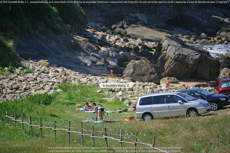 Fotografía de Playa de Merón en Villaviciosa. Asturias. España.