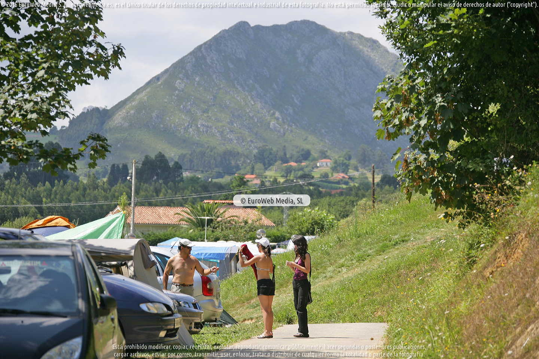 Fotografía de Camping Ribadesella en Ribadesella. Asturias. España.