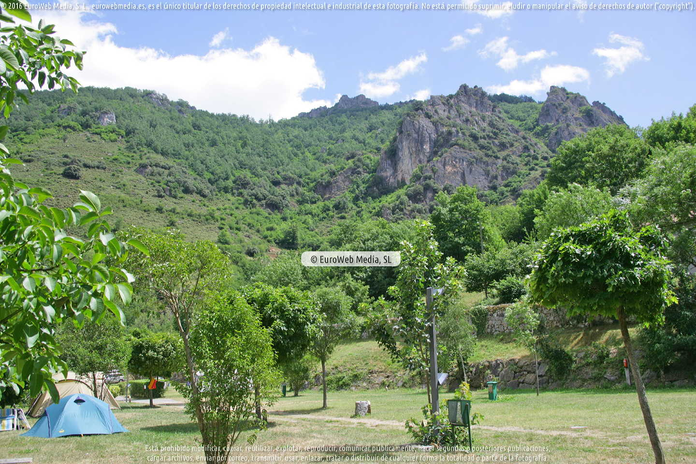 Fotografía de Camping La Pomarada de Somiedo en Somiedo. Asturias. España.