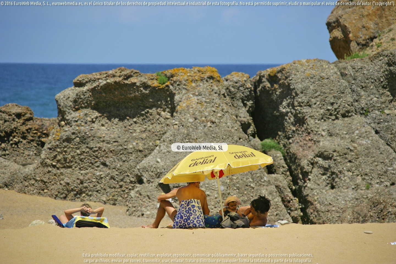 Fotografía de Playa La Ñora (Villaviciosa) en Villaviciosa. Asturias. España.