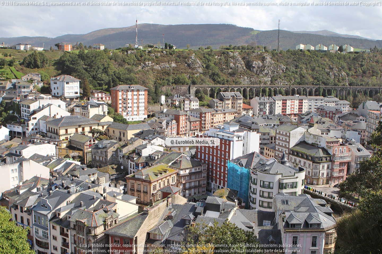 Fotografía de Mirador de El Chano en Valdés. Asturias. España.