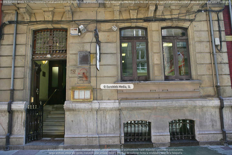 Fotografía de Casa del Pueblo PSOE en Gijón. Asturias. España.