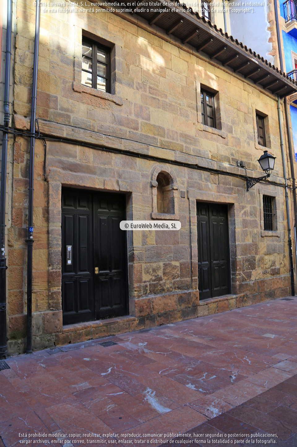 Fotografía de Capilla de la Magdalena en Oviedo. Asturias. España.