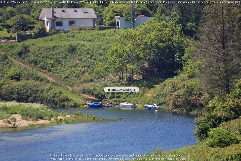 Fotografía de Río Porcia (Porcia) en El Franco. Asturias. España.