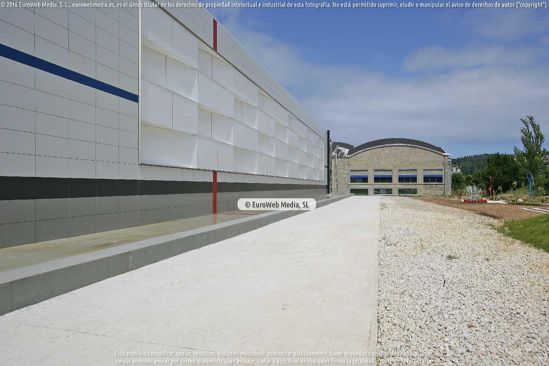 Fotografía de LABoral Centro de Arte y Creación Industrial en Gijón. Asturias. España.