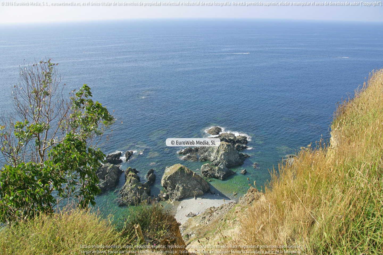 Fotografía de Mirador del Espíritu Santo en Muros de Nalón. Asturias. España.