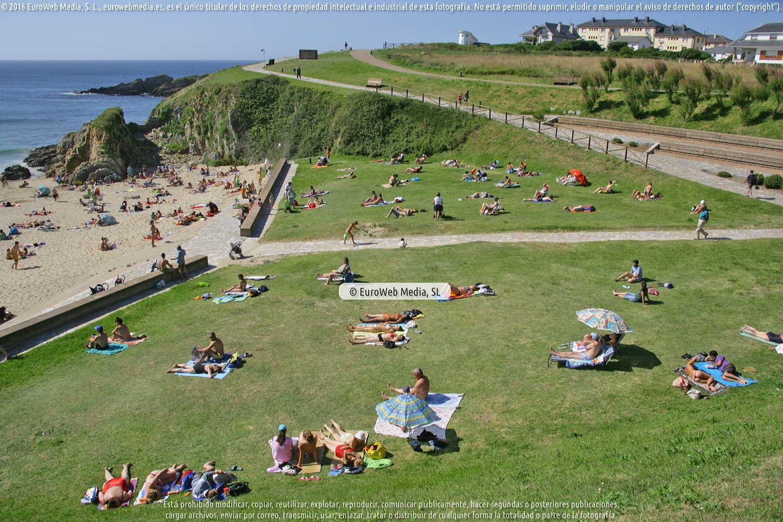 Fotografía de Playa del Murallón - La Municipal en Tapia de Casariego. Asturias. España.