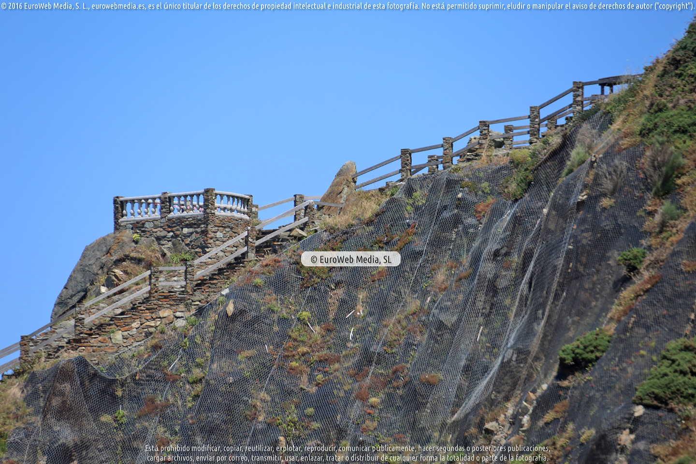 Fotografía de Mirador Punta del Pozaco en Soto del Barco. Asturias. España.