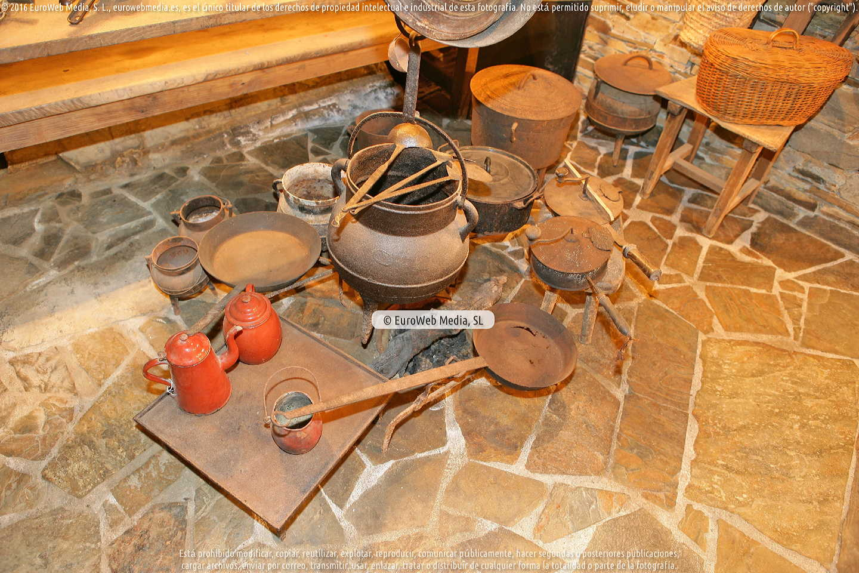 Fotografía de Museo Etnográfico de Esquíos en Taramundi. Asturias. España.