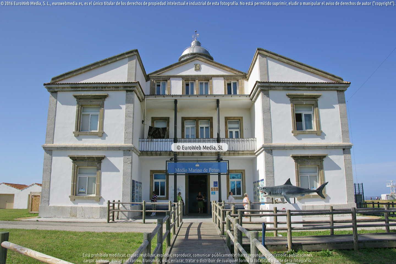 Fotografía de Centro de Interpretación del Medio Marino de Peñas en Gozón. Asturias. España.