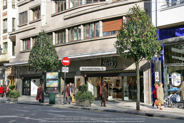 Fotografía de Edificio del antiguo Cine Aramo en Oviedo. Asturias. España.
