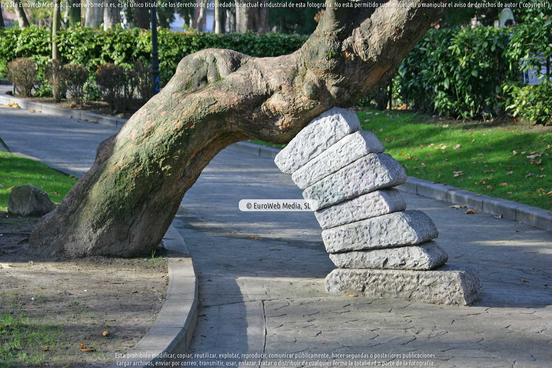 Fotografía de Escultura, «Naturalezas» en Oviedo. Asturias. España.