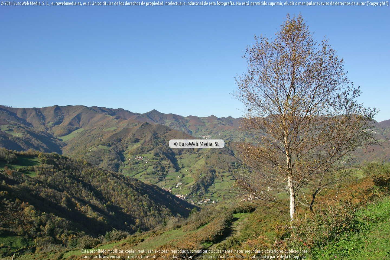 Fotografía de La Cuesta en Laviana. Asturias. España.
