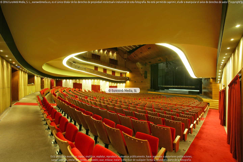 Fotografía de Teatro de la Laboral en Gijón. Asturias. España.