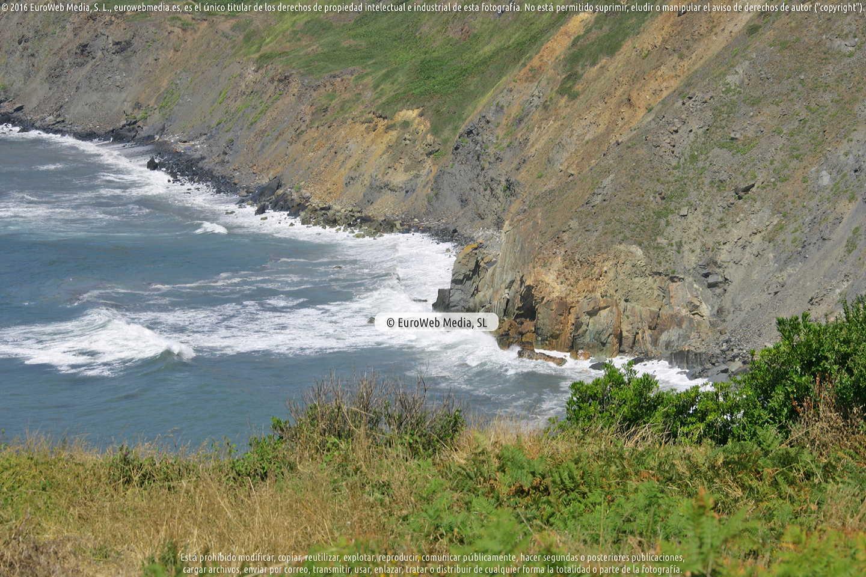 Fotografía de Playa la Carnera - Ferrero en Gozón. Asturias. España.