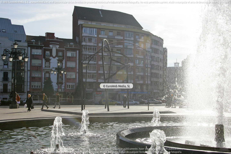 Fotografía de Escultura «Construcción para un encuentro» en Oviedo en Oviedo. Asturias. España.