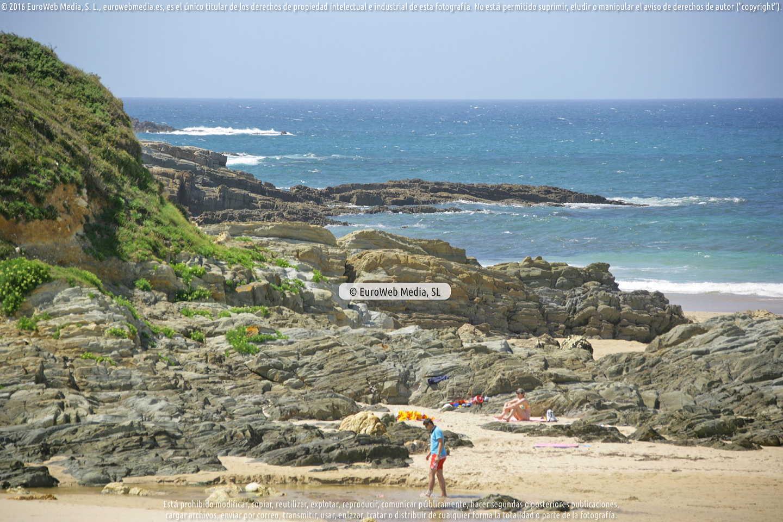 Fotografía de Playa Serantes en Tapia de Casariego. Asturias. España.