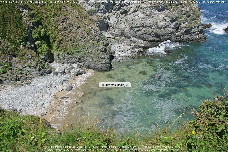 Fotografía de Playa La Reburdia en Tapia de Casariego. Asturias. España.