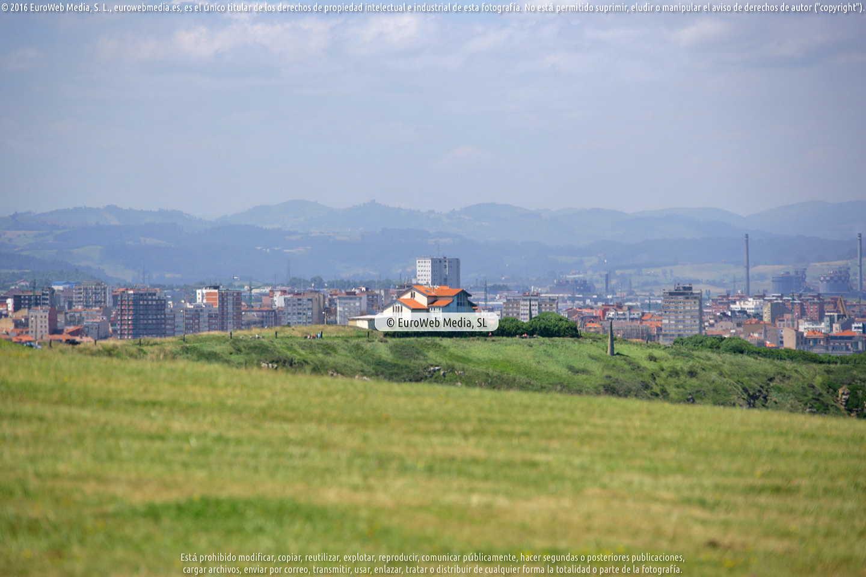 Fotografía de Sendero litoral de la costa este de Gijón en Gijón. Asturias. España.