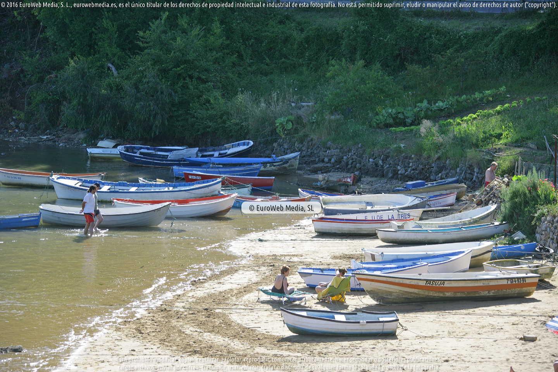 Fotografía de Playa Bonome en Villaviciosa. Asturias. España.