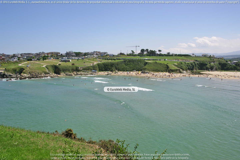 Fotografía de Playa Los Campos en Tapia de Casariego. Asturias. España.