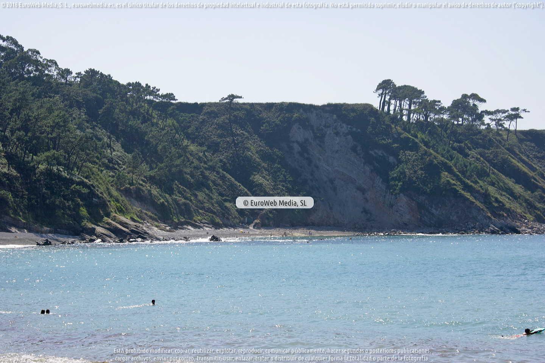 Fotografía de Playa Cartavio en Coaña. Asturias. España.