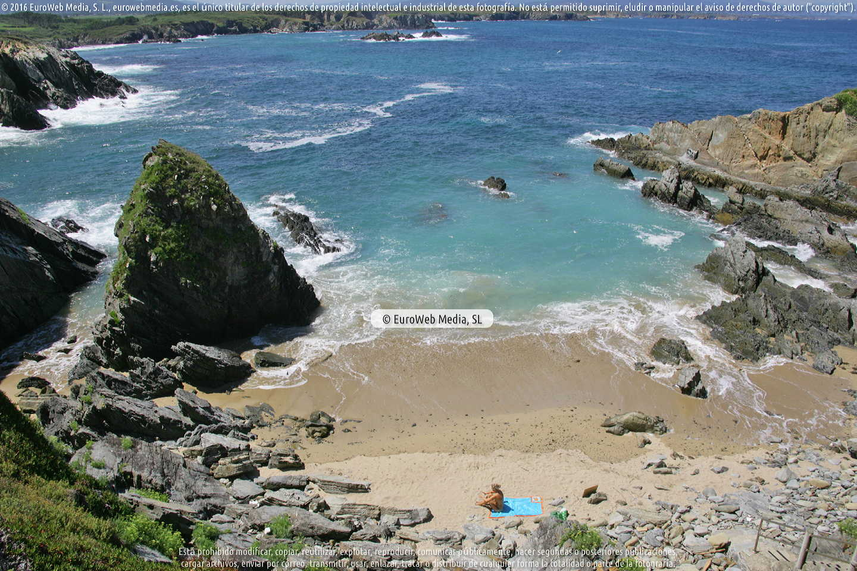 Fotografía de Playa La Palomina en Tapia de Casariego. Asturias. España.