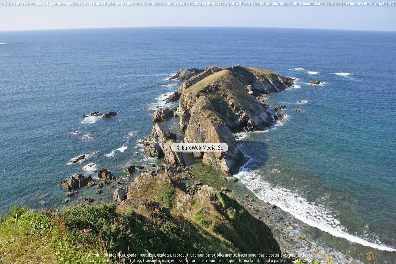 Fotografía de Playa Amarelle en Coaña. Asturias. España.