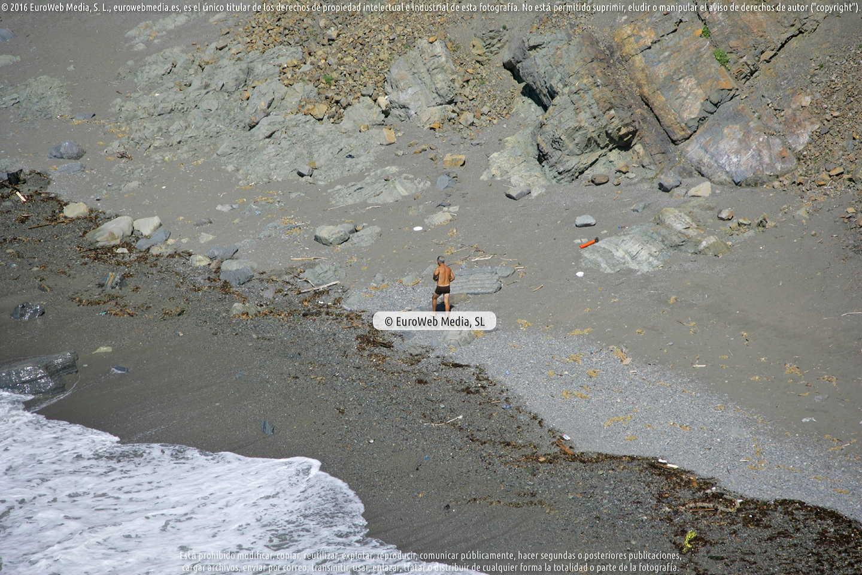 Fotografía de Playa de La Cabaña en Gozón. Asturias. España.