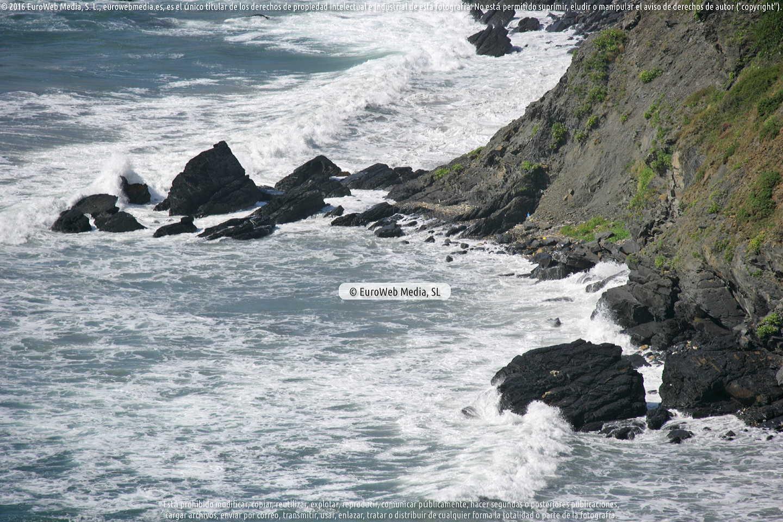 Fotografía de Playa El Picón en Gozón. Asturias. España.
