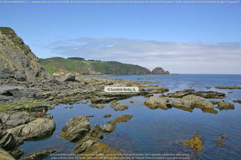 Fotografía de Playa El puertín Viodo en Gozón. Asturias. España.