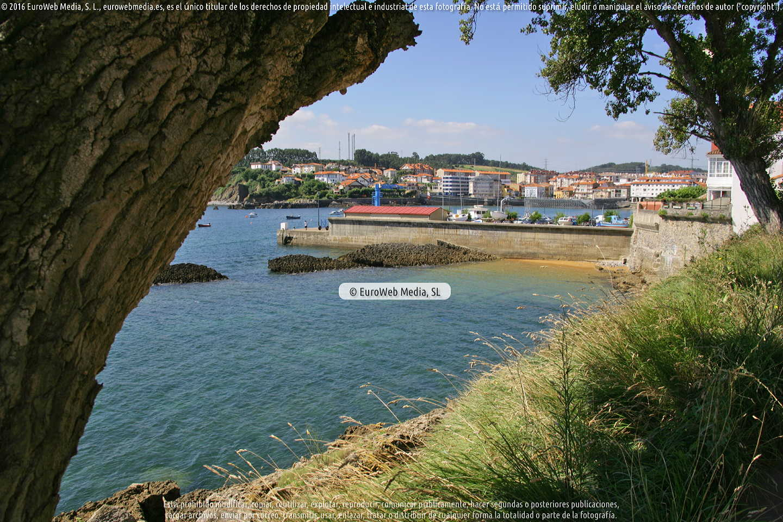 Fotografía de Playa la Iglesia en Gozón. Asturias. España.