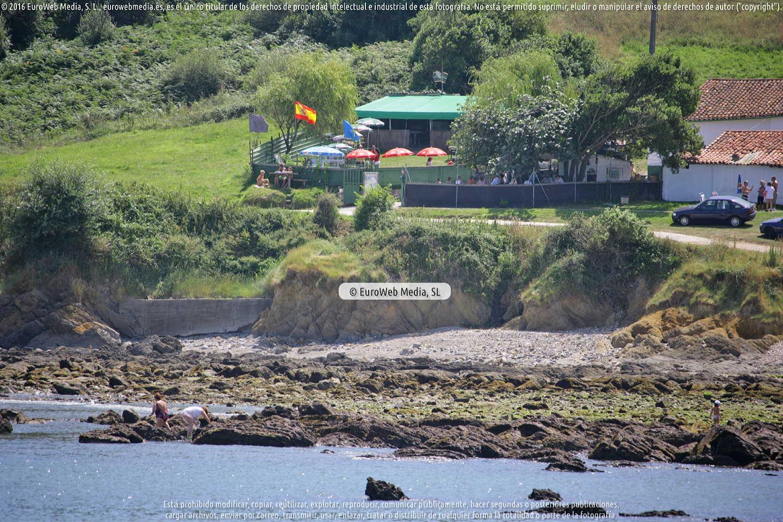 Fotografía de Playa Aramar en Gozón. Asturias. España.