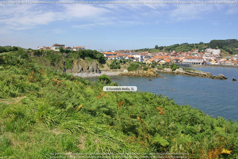 Fotografía de Playa Samarincha o Samarinchón en Gozón. Asturias. España.