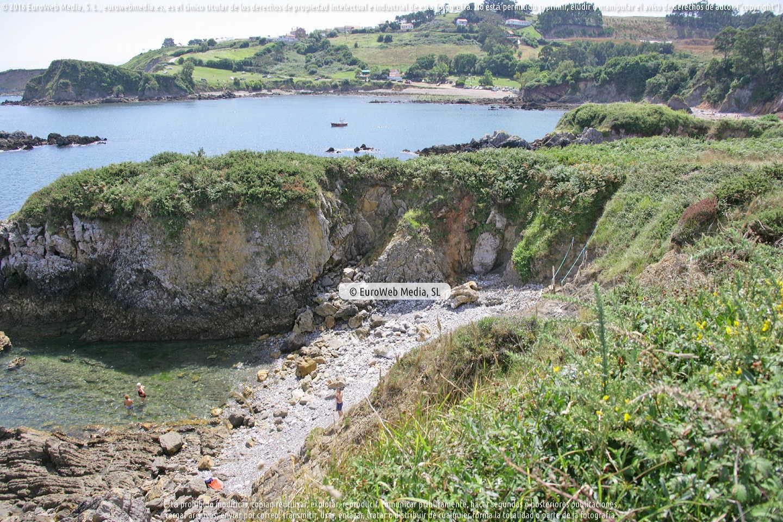 Fotografía de Playa Los Boletos en Gozón. Asturias. España.