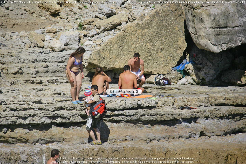 Fotografía de Playa El Cuerno en Gozón. Asturias. España.