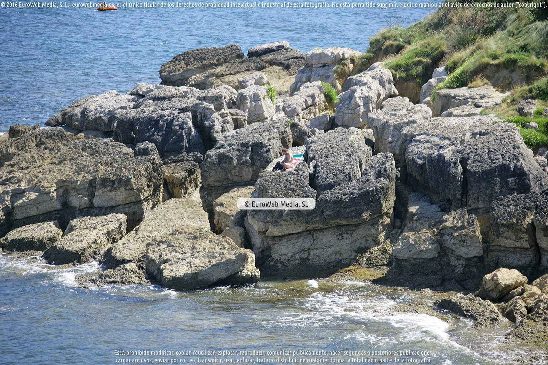 Fotografía de Playa El Sombrao en Gozón. Asturias. España.