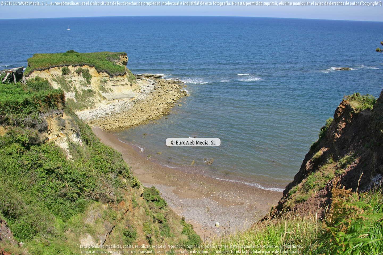 Fotografía de Playa El Truán en Gozón. Asturias. España.