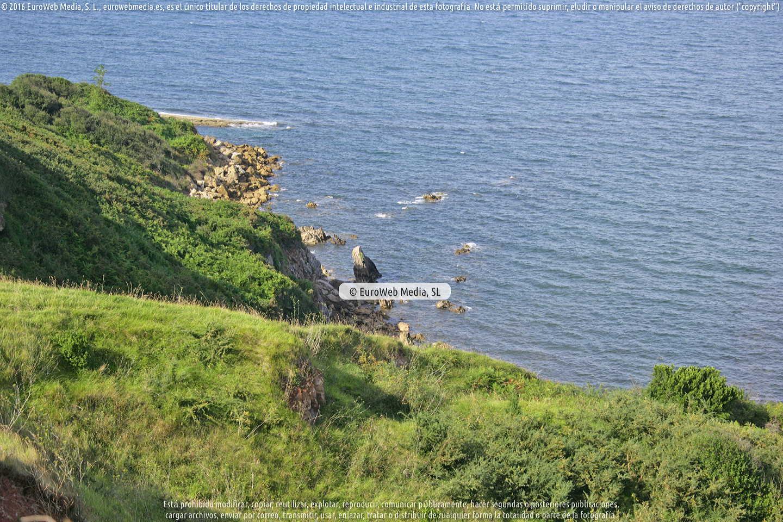 Fotografía de Playa El Sequeru en Carreño. Asturias. España.