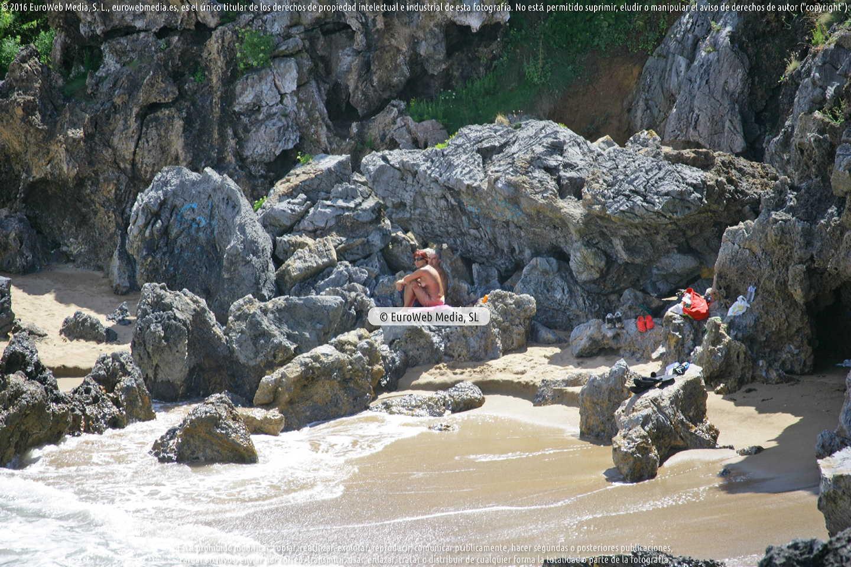 Fotografía de Playa de Los Curas en Carreño. Asturias. España.