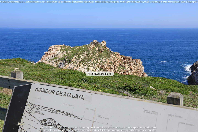Fotografía de Mirador de Atalaya en El Franco. Asturias. España.