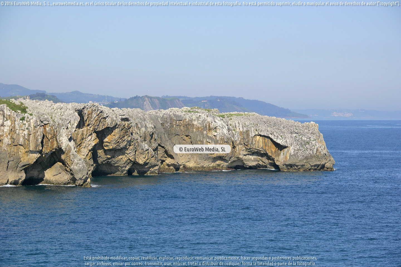 Fotografía de Acantilados en Pría en Llanes. Asturias. España.