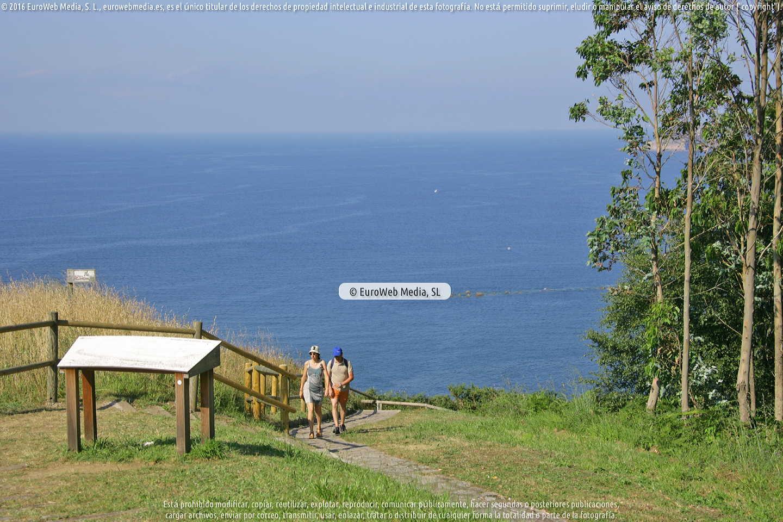 Fotografía de GR E9. Senda Costera de Muros de Nalón en Muros de Nalón. Asturias. España.