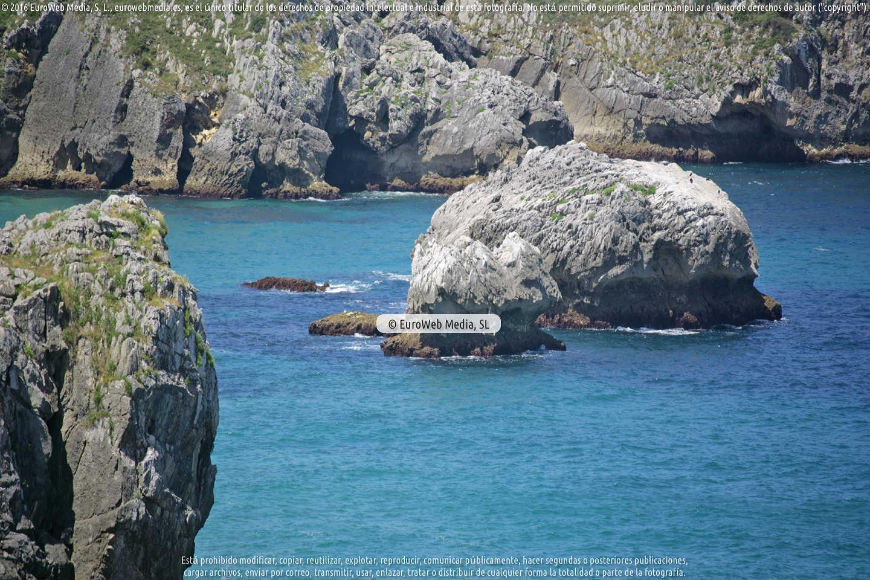 Fotografía de Costa de Asturias en Hontoria en Llanes. Asturias. España.