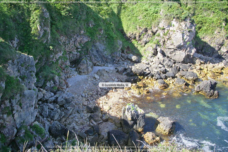 Fotografía de Playa Peñadrada en Llanes. Asturias. España.