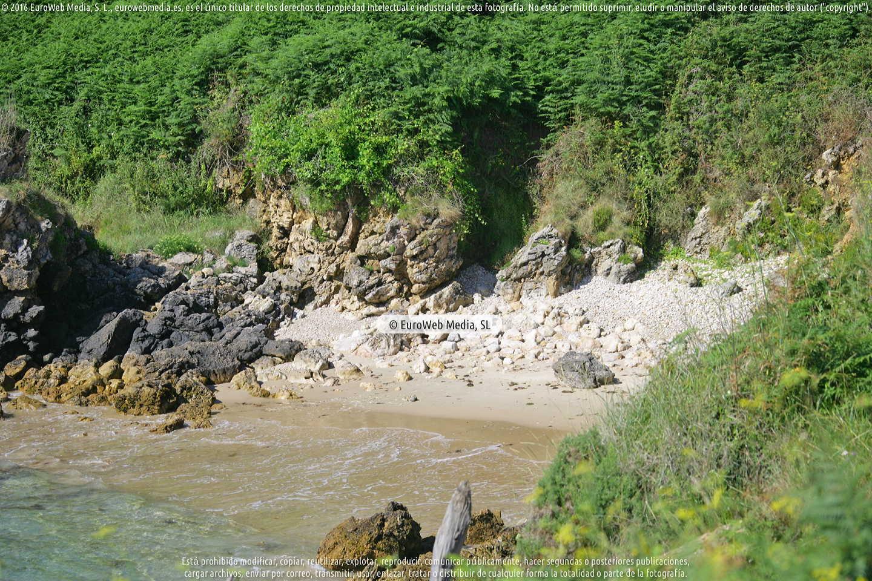 Fotografía de Playa de Sevalle en Llanes. Asturias. España.