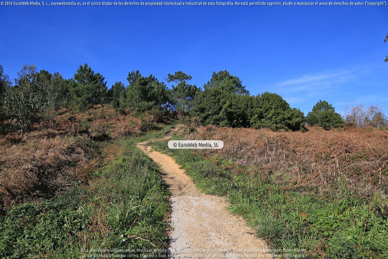 Fotografía de Senda peatonal Luanco - Moniello - Bañugues en Gozón. Asturias. España.